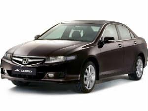 Чехлы на Honda Accord VII Sd с 02-07г