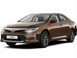 Чехлы на Toyota Camry модельный ряд