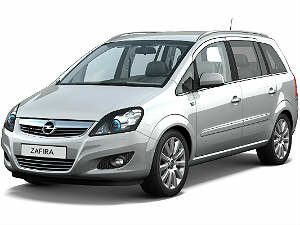 chehly Opel Zafira B
