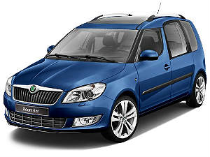 chehly Skoda Roomster
